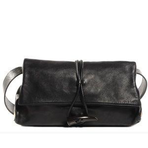 Burberry Leather Horn Toggle Shoulder Bag